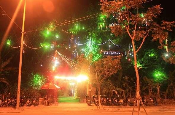 cafe núi Đá Sơn Trà Đà Nẵng rất độc đáo