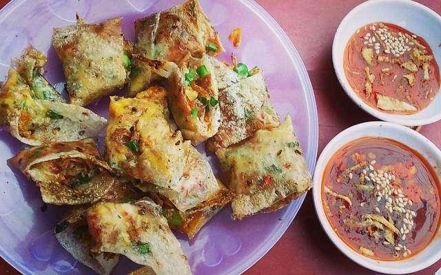 bánh tráng kẹp bé Tý Đà Nẵng